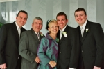 Dermot O Toole, his wife Bridget and sons